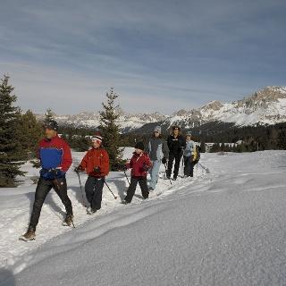 Escursione invernale al Passo Lavazè