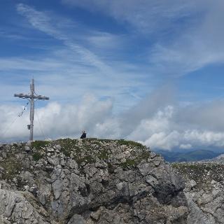 Das Gipfelkreuz Weißeck