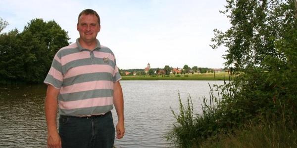 Bürgermeister Martin Piott: Bei uns dominieren die drei W's: Wälder, Wiesen und Weiher..