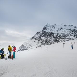 Start Bergstation Bergbahnen Gargellen