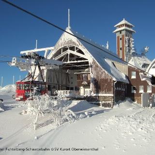 Bergstation der Fichtelbergschwebebahn