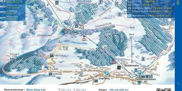 Pistenplan Engelberg-Brunni