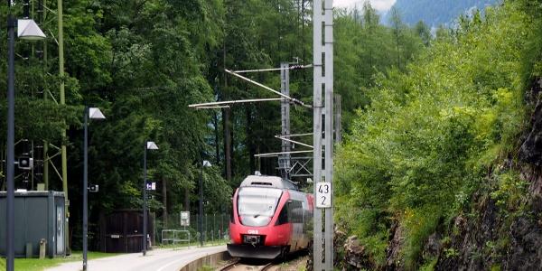 Bahnhof Hallstatt ~530m