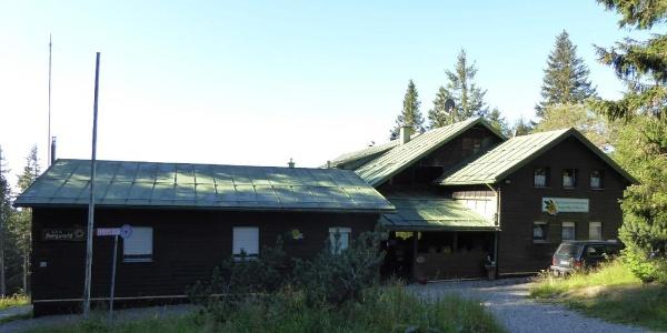 Schuzthaus am Großen Falkenstein