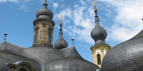 Türme des Käppele in Würzburg