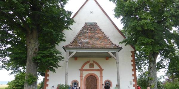 St. Wendelin Kapelle, Eingangsbereich