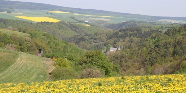 Hunsrück-Landschaft