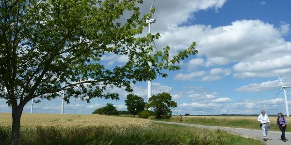 Windräder bei Kirchheilingen