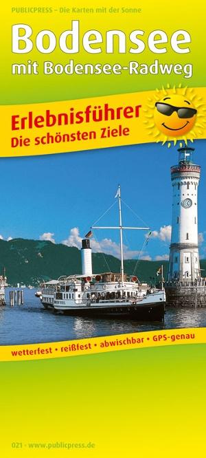 Bodensee mit Bodensee-Radweg