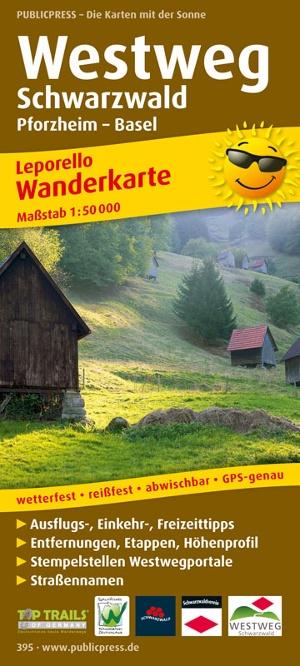 Westweg, Schwarzwald
