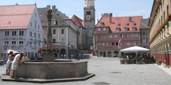 Memminger Marktplatz