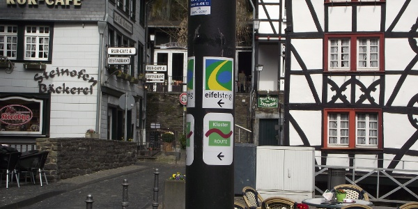 Eifelsteig Etappe 3: Monschau - Einruhr_Monschau Markt