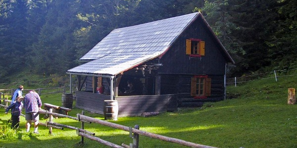 Alpenrosehütte (Nordseite) der Sektion Kienthaler des ÖTK