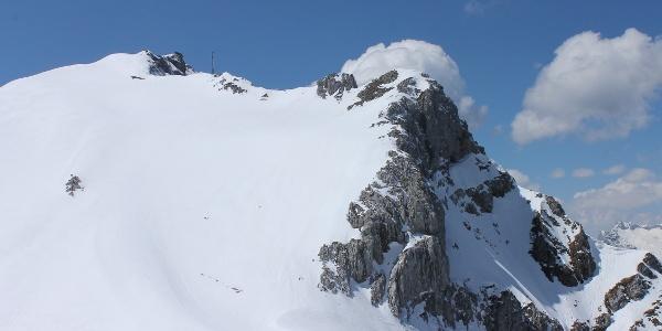 Ski-Freeride: Dammkar über Mittenwald • Ski Freeride