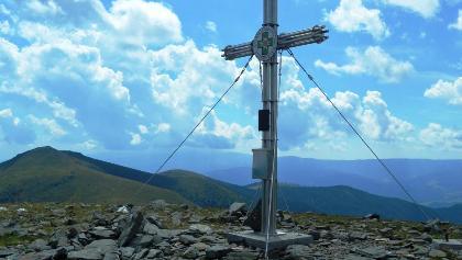 Gipfelkreuz Speikkogel Stubalm