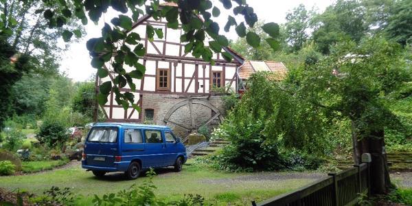 Wassermühle am Bornebach in Bad Wildungen