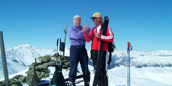 Skitour auf den Peitlernock (2.244m) im Nationalpark Nockberge