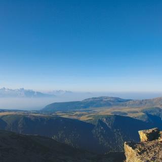 Aussicht auf die Sarntaler Alpen.