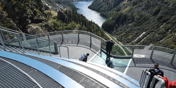 Kölnbreinsperre mit Skywalk