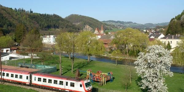 Mariazellerbahn bei Rabenstein an der Pielach