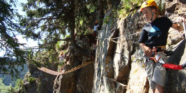 Klippitztörl - Klettergarten