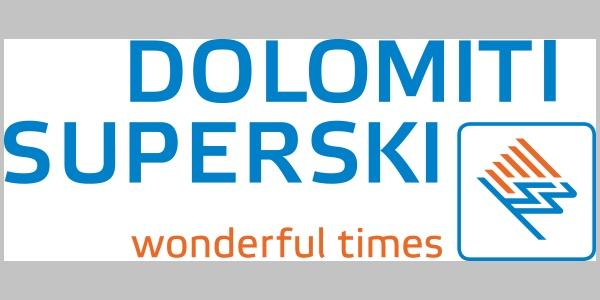 Das Logo von Dolomiti Superski