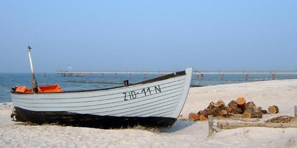 Fischerboot in Zingst