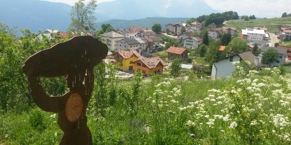 Luserna vista da località Huettn