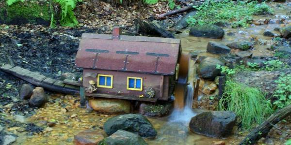 Miniaturmühle