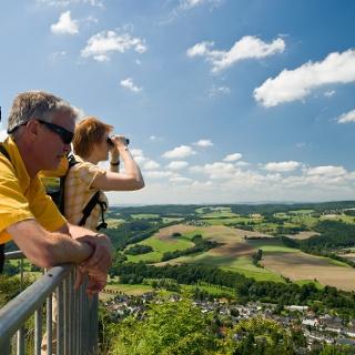 Traumhafter 360-Grad-Sicht vom Roßbacher Häubchen.
