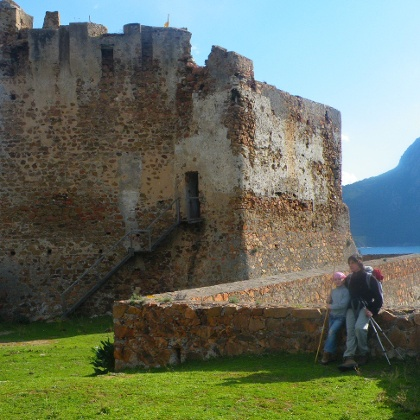 Das Fort von Girolata