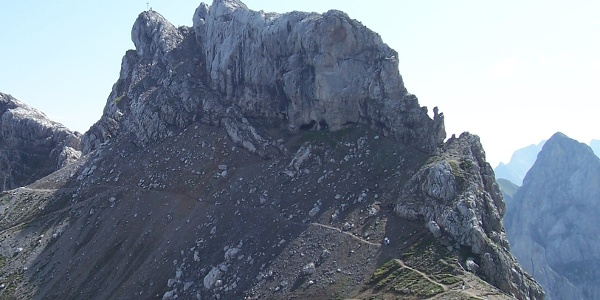 Die Westliche Karwendelspitze.