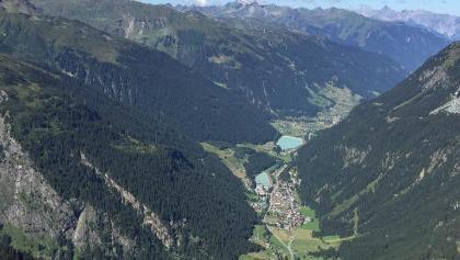 Aussicht von der Breitspitze
