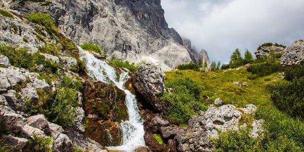 Le cascate del torrente Risena