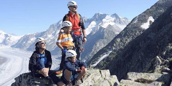 Klettersteig Eggishorn