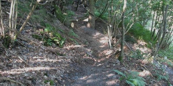 Schieferweg nahe Bergwerk Fell