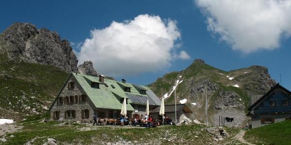 Mindelheimer Hütte.