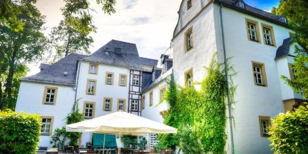 Terrasse - Schlosshotel Eyba