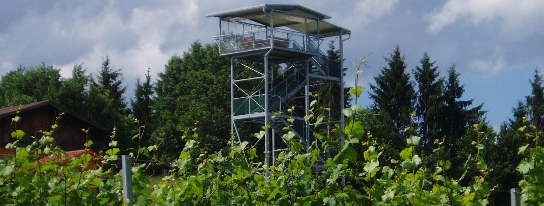 360° Panoramaturm Weingut Garber