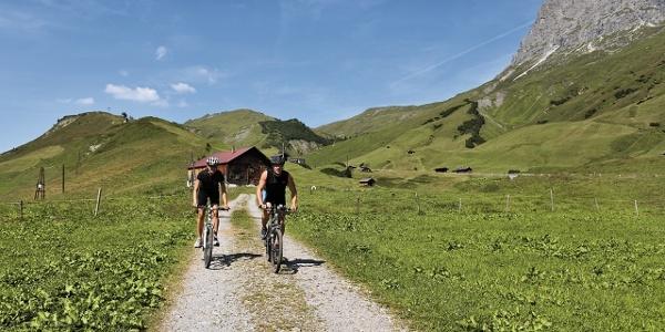 Mountainbike am Hochtannberg
