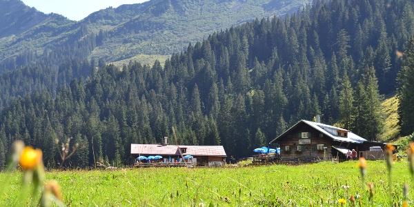 Alpe Melköde im Schwarzwassertal