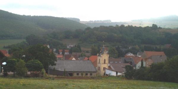 Blick auf Würzweiler