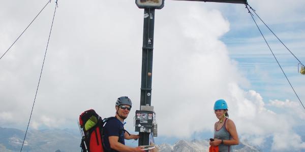 Gipfelfoto Hoher Riffler