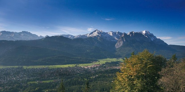 Der Ausblick vom Grasberg.