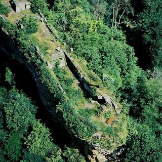 Falkenburg Luftaufnahme