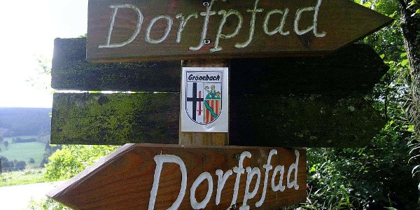 Grönebacher Dorfpfad - Wegweiser