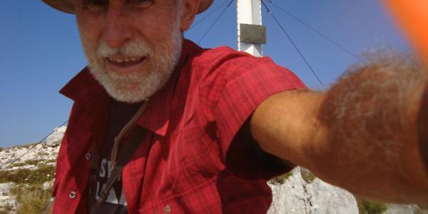 Selfie am Gipfel