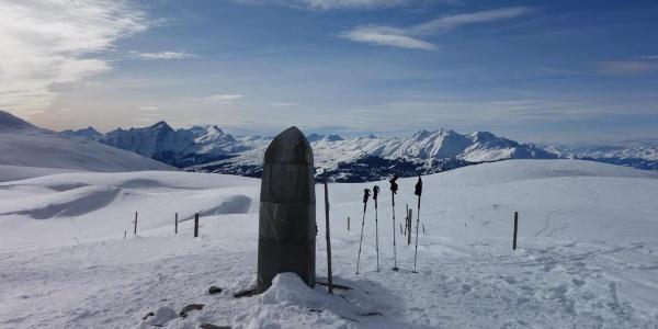 Dreibündenstein - was für eine Aussicht