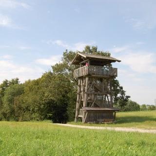 Christoph-Scheiner-Turm bei Markt Wald