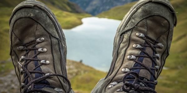 Pause auf dem Weg zur Rappenseescharte (2272 m)